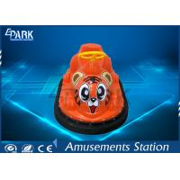 Amusement Park Kids Bumper Car Mini Size Cute Tiger Appearance Natural Rubber Manufactures