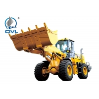 China Medium Yellow 2.4m3 4 Ton Compact Wheel Loader CVLW400KN on sale