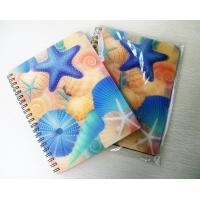 Buy cheap lenticular spiral binding 3d notebook with deep 3D effect from wholesalers