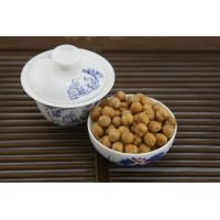 Quality Low Fat Wasabi Roasted Chickpeas Snack , Crunchy Baked Chickpeas Hard Texture for sale
