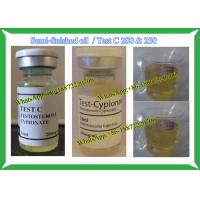 Semi Finished Steroid liquid Cypoject 250 Test C 200 / Test Cyp For Bodybuilding Manufactures