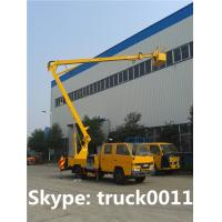 hot sale 12m JMC brand aerial working platform truck, overhead working truck for sale Manufactures