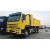 ZZ3257N3647 Heavy Duty Dump Truck 6x4 10 Wheeler 18m3 HOWO 371 Truck Manufactures