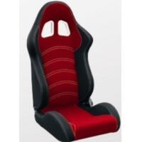 Cloth Fabric Material Sport Racing Seats Fully Reclinable / Auto Car Seats Manufactures