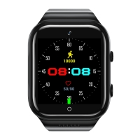 5.0 MP Front Rear Camera SL8541E 4G Calling Smart Watch Manufactures