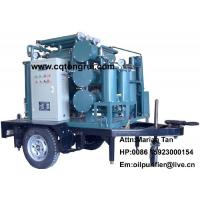 Mobile Multi-functional transformer oil Purifier machine to remove deep oxide free carbon Manufactures