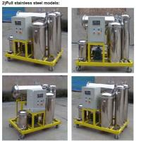 Used Cooking Oil Filtration equipment for removing water and impurities(stainless steel) Manufactures