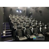 Innovative Electric System 5D Movie Theater Chairs With Special Effects Manufactures