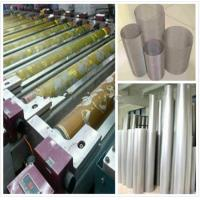 Wax Printing Textile Machinery Spare Parts Rotary Screen High Utilization Ratio Manufactures