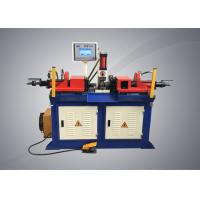 China Double Head Tubeend Forming Machine , Semi Automatic Steel Pipe Forming Machine on sale