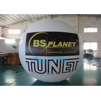 Inflatable Advertising Printed Helium Balloons , Commercial Custom Printing Balloons Manufactures