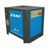 Mini High Pressure Rotary Screw Compressor 5.5 HP 4 KW Belt Air Cooling ZAKF Manufactures