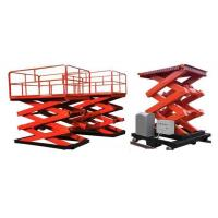 Buy cheap 2000Kg Hydraulic Stationary Scissor Lift 2.38m from wholesalers