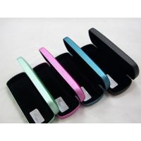 Portable Stitched Metal Optical Glasses Case , Personalised Hard Glasses Case Manufactures