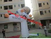 Inflatable taekwondo Tae kwon do model Manufactures
