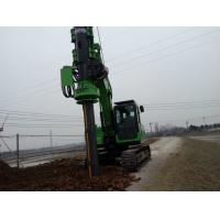 Rotary Pile Foundation Equipment / Bored Hole Pile Driving Machine KR50A Manufactures