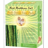 OEM body pure bamboo vinegar detox foot patch No side effect Manufactures