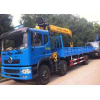 China Telescopic Boom Truck Mounted Crane Dongfeng 6x2 12MT 12 Ton Crane Truck on sale