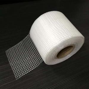 China Building 25mm Alkali Proof Fiberglass Drywall Joint Tape on sale