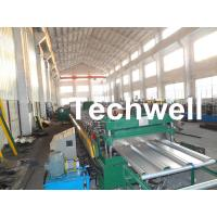 Steel Structure Floor Deck Roll Forming Machine for Making Metal Structure Floor Decking Panel Manufactures
