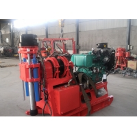 XY-2B Water Well Borehole Drilling Rig Light Weight With High Installed Power Manufactures