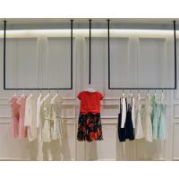 Simple Design Hanging Clothes Display Rack / Retail Clothing Racks 3 Meters Height Manufactures