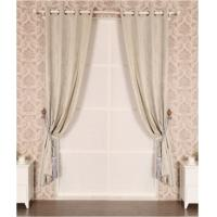 Buy cheap Embossed Black Out Window Curtain from wholesalers