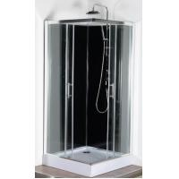 Quality Square White ABS Tray Corner Shower Cabins 900 X 900 CE SGS Certification for sale