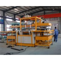 Buy cheap Automatic vacuum forming type Robot arm PS foam takeaway lunch box forming machine from wholesalers