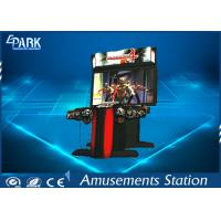 300W Indoor Shooting Game Machines / Zombie Arcade Machine HD Monitor Manufactures