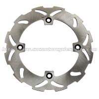 High Performance Motorcycle Rear Floating Brake Disc For DR 350 R Supermoto Bike Manufactures