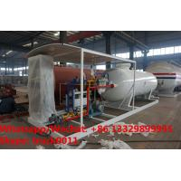 Customized CLW 5ton gas cylinder LPG bottling plant 50000 liters lpg gas station for sale, skid lpg gas dispensing plant Manufactures
