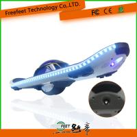 Electric Scooter Hoverboard With Bluetooth Remote 6.5 Inch Blue Skateboard For Adult