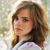 Emma Watson Golden Blonde Medium Short Curly Wig Manufactures