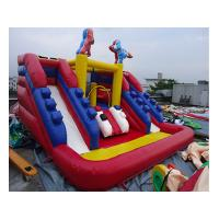 Quality PVC Tarpaulin Outdoor Inflatable Water Slide For Kids Funny Amusement Games for sale