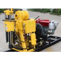 China Hydraulic 200m Soil Testing Drill Rig Machine / Geological Drilling Machine on sale