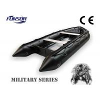 Quality Lightweight Durable Military Inflatable Boats 6 Person For River for sale