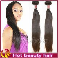 Brazilian Remy Silky Straight Human Hair Brown , Sleek Hair Extensions Manufactures