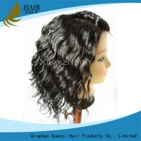Buy cheap African American Human Hair Wigs , Body Wave Full Lace Wigs With Baby Hair from wholesalers