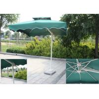 Backyard Small Rectangular Patio Umbrella , Square Offset Umbrella Sunlight Proof Manufactures