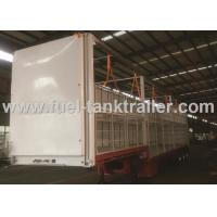 China Air Suspension Curtain Van Trailer Easy Assembly Extra Durability Designed on sale