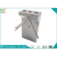 Electronic Mechanical Tripod Turnstile Gate Remote Control For Airport Manufactures