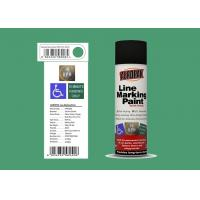 AEROPAK Line Marking Spray Paint 500ml grass green color with ROHS for street Manufactures