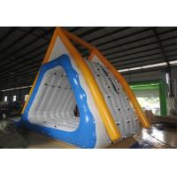 Quality Fireproof Tarpaulin Inflatable Water Slide / Inflatable Sports Games for sale