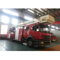 Quality Ultrasonic Sensor Remote Control Ladder Fire Truck Running Speed 90KM/H for sale