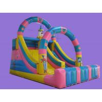 Popular Commercial Inflatable Sports Game , Double Line , Giant Slide Toys Manufactures