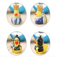 Quality Customized Mini Rubber Animal Keychains Monster Duck For Bag BPA Free Vinyl for sale