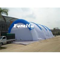 Material 0.55mm pvc Tarpaulin Size 30x20x9m Inflatable Sport Tent Paintball Tent Manufactures
