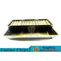 Buy cheap Float Lift And Down 14 Row Poker Chip Holder Suitable For 40mm Round Chips from wholesalers