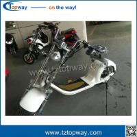 China 2 wheel citycoco scooter harley motorcycle with Headlight Brakelight Ring bell on sale